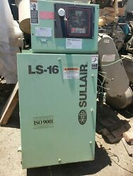 Complete Working Sullair Control Panel / Electrical Box And Starters Ls16 Unit