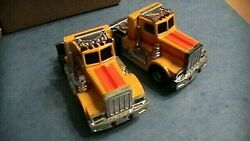 Tyco Pair Of Sears Mail Order Peterbuilt Cab Slot Cars In Box Afx Style Slots