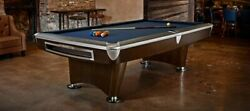 9ft Brunswick Gold Crown 6 (Gently Used)