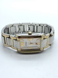 Fossil Ladies Stainless Steel Two Tone Quartz Watch Es-1268