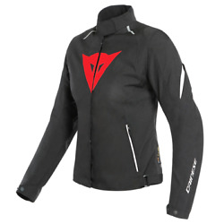 Womenand039s Jacket Motorcycle Dainese Laguna Seca 3 Lady D-dry Black Red White 46