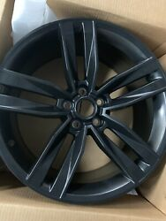 Genuine Gm 20 Wheel Low Gloss Black 23333843 New Oem Factory Part. A Set Of 4.
