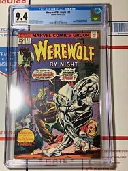 Werewolf by Night #32 CGC 9.4 (Marvel Comics 1975) 1ST Marc Spector MOON KNIGHT