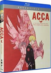 Acca 13-territory Inspection Dept. The Complete Series Blu-ray Disc, 2018
