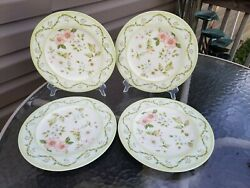 4 Tracy Porter Cottage Trellis Collection 10 3/4 Dinner Plates