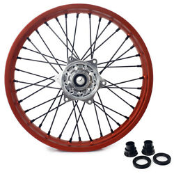 19and039and039x2.15 Silver Hub Rear Wheel Set For Ktm 125-540 Sx Sxs Sxf Xc-w Exc Xc-f Mxc