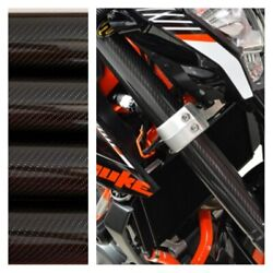 Fork Skins Guards Covers Glossy Carbon Fiber Stickers Triumph Daytona 675 R