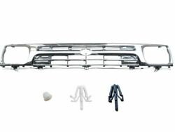 1992-1995 Grille Grill Fit For Toyota Pickup Hilux 2wd Fully Chrome W/clip