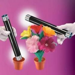 Appearing Bouquet From Wand By Empire Magic Trick Flowers Prop Stage Illusion
