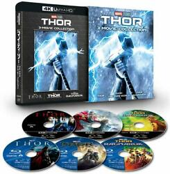 Mighty Thor 4k Uhd 3 Movie Collection 4k Ultra Hd + Blu-ray
