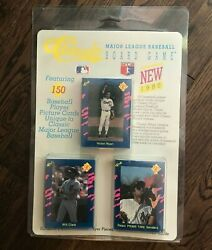 Vintage Mlb Trading Card/board Game. New Old Stock, 150 Baseball Cards Included