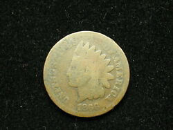 Must Go Sale Key Date 1866 Indian Head Cent Penny Collectible U.s Coin 231v