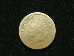 Must Go Sale Semi Key 1876 Indian Head Cent Penny Collectible U.s Coin 239v