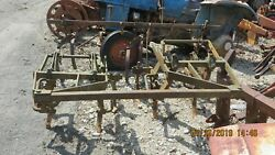 Ac Allis Chalmers Wd, Wd45 Tractor 2 Row Cultivator
