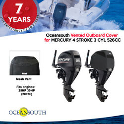 Oceansouth Running Vented Cover For Mercury 4 Stroke 3cyl 526cc 25-30hp