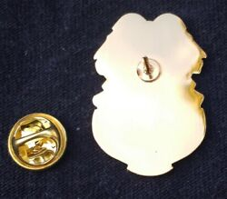 Us Army Mpbadges Large Gold Lapel Or Hat Pin