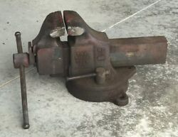 Vintage Ridge Tool Co. Bench Vise No. 51 - 5 Wide Jaws
