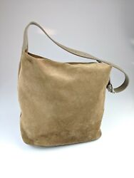 Furla Brown Suede Hobo Small Bag 145 $49.99