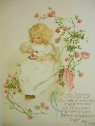 Maud Humphrey's Mother Goose / First Edition 1891