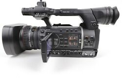 Panasonic AG-AC160AP AVCCAM Camcorder 116 Hours w/ Batteries and Charger