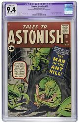 Tales to Astonish 27 CGC 9.4 R C-1 NM Marvel 1st Ant-Man Avengers OWW Pages