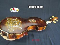 Song Brand Concert Violin 4/4shell Inlaid On Backpowerful Sound 11122