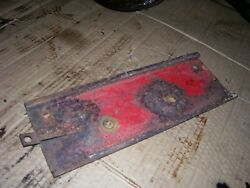 Vintage Massey Harris 44 Std Gas Tractor -tool Box Support Brkt And Latch -1947