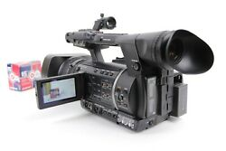 Panasonic AG-AC160AP AVCCAM Camcorder 260 Hours w/ Batteries , Charger ,Remote