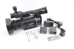 Panasonic AG-AC160AP AVCCAM Camcorder 96 Hours w/ Batteries , Charger ,Remote