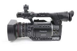 Panasonic AG-AC160AP AVCCAM Camcorder 115 Hours w/ Batteries , Charger ,Remote