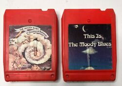 The Moody Blues This Is The Moody Blues A Question Of Balance 8 Track Lot A24