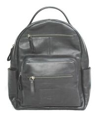 Rawlings Heritage Collection Medium Black LEATHER Backpack Bag Purse $99.00
