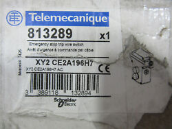 Schneider Telemecanique Xy2ce2a196h7 Emergency Stop Trip Wire Switch New In Box
