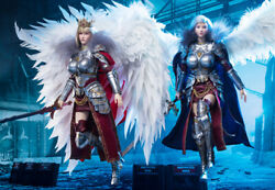 Super God College 1/6 Angel Yan Action Figure 12 Queen Collectible Toy Preorder
