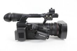 Panasonic AG-AC160AP AVCCAM Camcorder 174 Hours w/ Batteries , Charger ,Remote