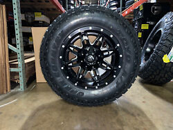 18x9 Fuel D567 Lethal Wheels Rims Tires 33 Toyo At 8x6.5 Gmc Sierra 2500 3500