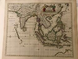 South East Asia, India Orientalis, Original Map.frederick Of Wit, Amsterdam 1680