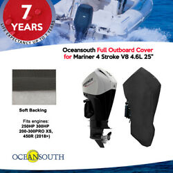 Oceansouth Outboard Storage Full Cover For Mariner V8 4.6l 200hp - 450hp 25