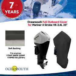 Oceansouth Outboard Storage Full Cover For Mariner 4 Stroke V6 3.4l 25