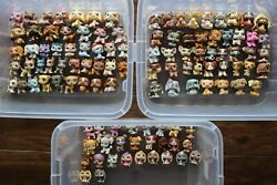 Lot of 112 rare Littlest Pet Shop dogs only figures Dachshund Collie Little LPS
