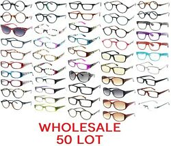 50 Pack Reading Glasses Wholesale Assorted Readers For Men And Women