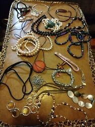 20 Pc Vintage/now Wearable No Junk Drawer Jewelry Unsearcheduntested Freeusaship