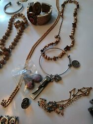 25pc Vintage/now Wearable No Junk Drawer Jewelry Unsearcheduntested Freeusaship
