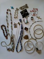 26pc Vintage/now Wearable No Junk Drawer Jewelry Unsearcheduntested Freeusaship
