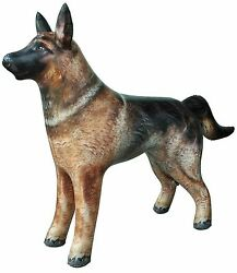 Inflatable German Shepherd Dog Pet Animal 41quot; Long for Party Decoration Gift Toy