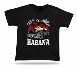 Cuba Habana Sexy Car Rider modern awesome cool t shirt design special present