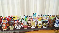 Lot Of 20 Disney Vinylmation Figures Mostly Early Series