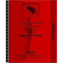 International Farmall 400 Gas And Diesel Tractor Parts Manual Tc-55