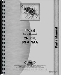 Ford 2n 8n 9n Naa Tractor Parts Manual Catalog