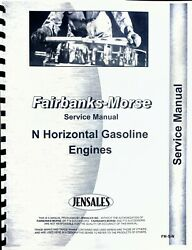 Service Manual Fairbanks Morse Type N Hit And Miss Engine